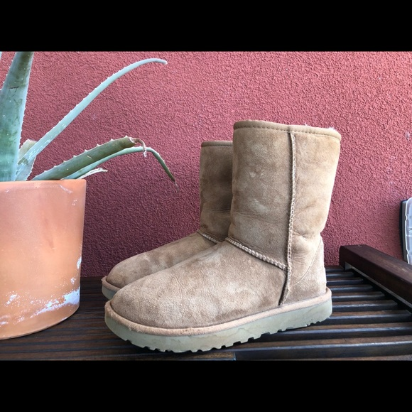 775755e46bf03 Ugg Classic Short II boots - Chestnut Tan  Brown